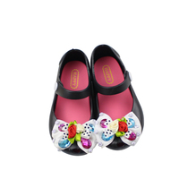 Mini Helisha flat colorful diamond bowknot upper shoes high quality children's dress baby sandals
