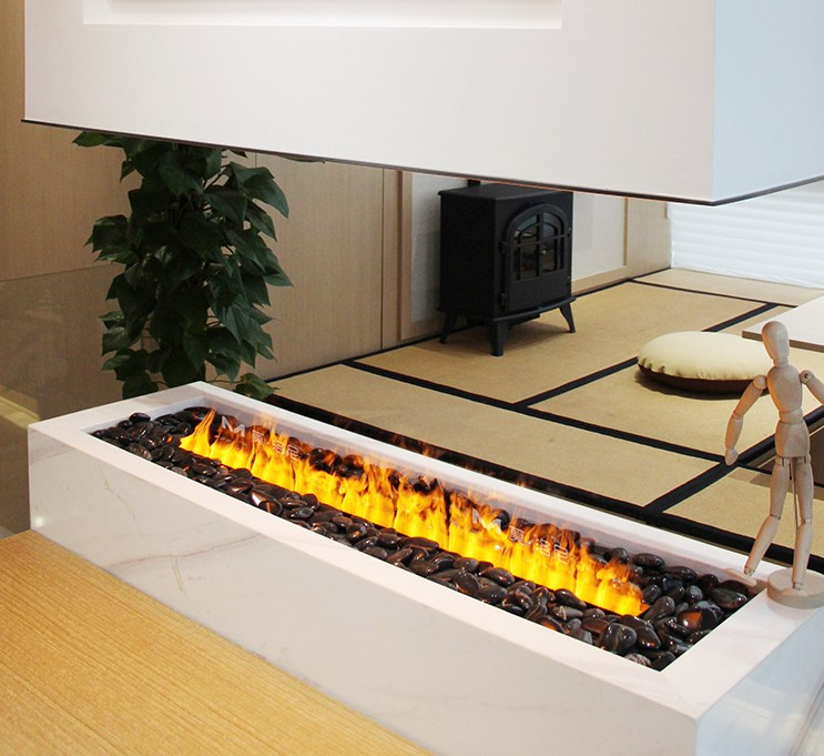high quality LED light decorative electric fireplace water vapor fireplace with water steam