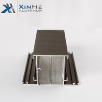 Aluminium Windows Profile 6063 Powder Coating Brown Aluminum Profiles Anodizing Silver Window Frame For Congo