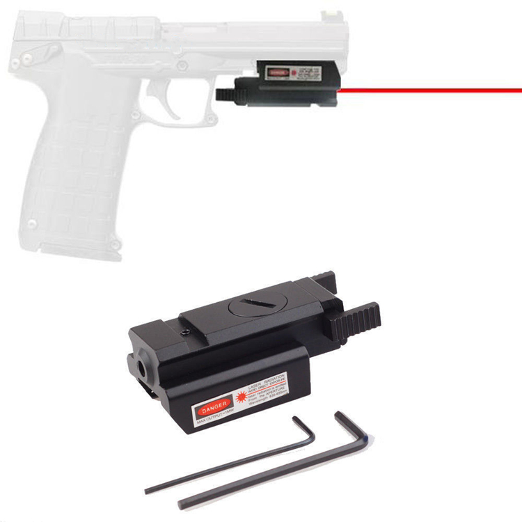 Adjust Two Scope Mount Remote Switch Scope 45 Tactical Red Laser Sight