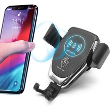 Wireless Car Charger Fast Charging 10W Car <strong>Phone</strong> <strong>Holder</strong> Car Wireless Charger Mobile <strong>Holder</strong>