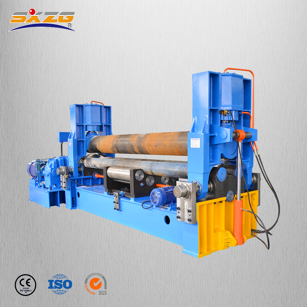 China small manufacturing <strong>machines</strong> metal used steel copper <strong>rolling</strong> <strong>machine</strong> 3 roller vertical plate bending <strong>machine</strong> for sale