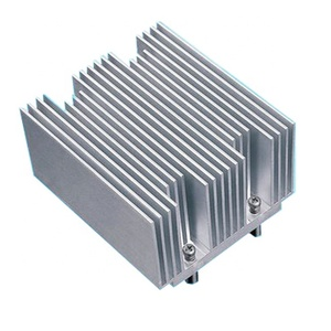predrilled aluminum heat sink for peltier for tec project