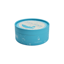 <strong>OEM</strong> Valentine's mother's day luxury blue empty wedding gift box luxury preserved round cylinder flower gift box