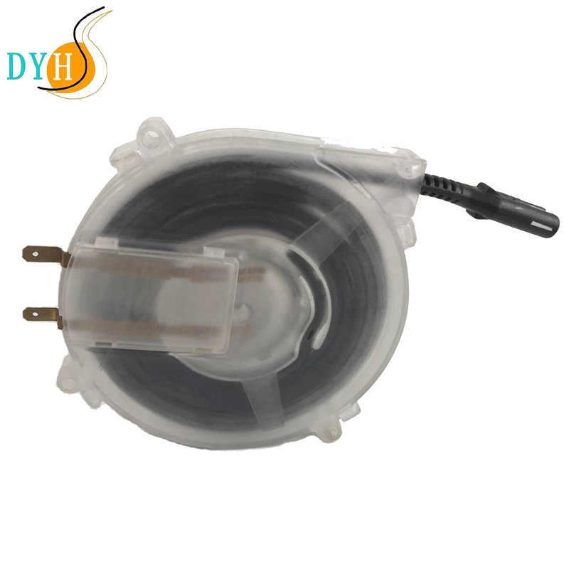 new DIY mini retractable cable reel with slip ring with 2 cores flat cable for signal, HDMI,medical,phone use