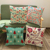 New design polyester printed cushion cover home decorate