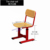 Molded plate height adjustable student furniture school study chairs