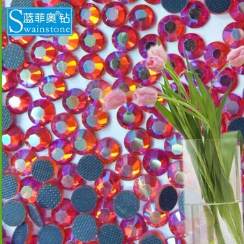 S0810 rose ss20 5mm 100 gross AB china hot fix stone;Rhinestone hot fix crystal china supplier;transfer strass hot fix pedreria