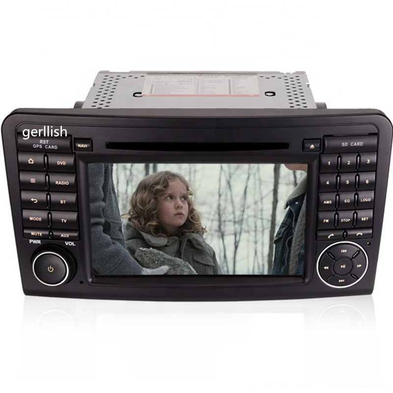 7'' Android car <strong>dvd</strong> stereo player for Mercedes Benz ML CLASS <strong>W164</strong> ML350 ML430 ML450 ML500 GL CLASS X164 GL320 <strong>gps</strong> navigation