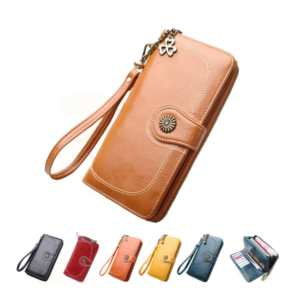 W361 Hot sale branded 2019 woman carteras PU leather ladies purse <strong>wallets</strong>