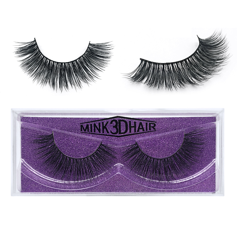 <strong>17</strong> Different Style 3d Fake Mink Extension Packaging Blank Clear Cheap Circle Eyelash Box (1 Pair / Box)