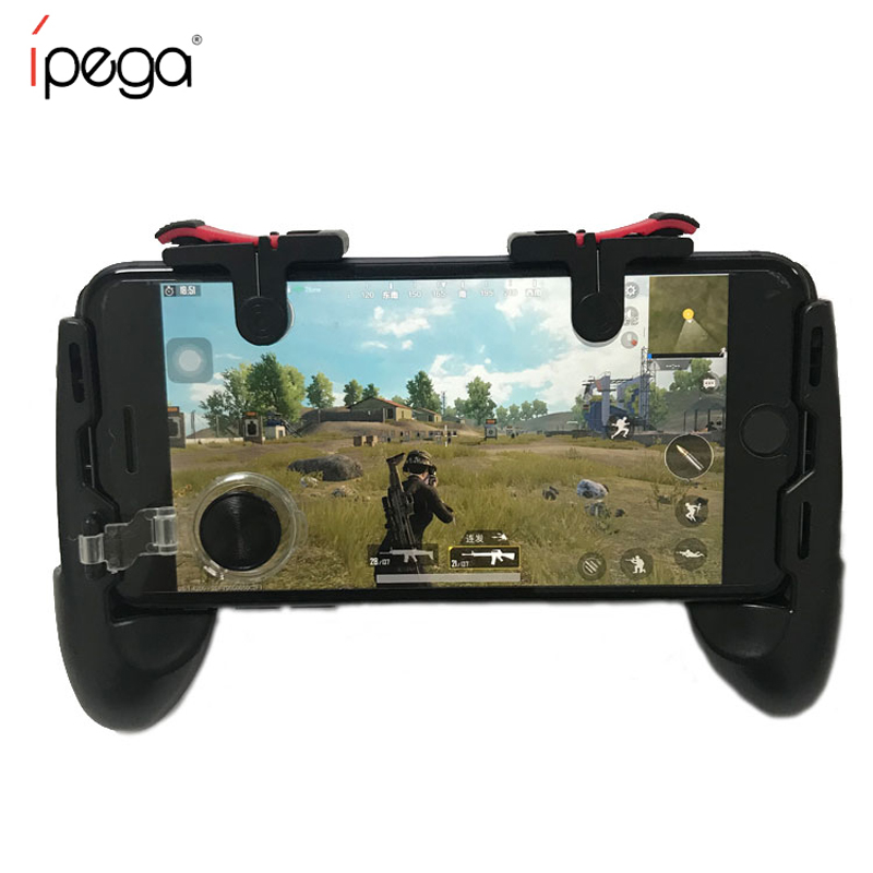 Sensitive Shoot Aim Joysticks PUBG <strong>Controller</strong> for Phone L1R1 Grip with Joystick Fire Buttons For Android /IOS Phone