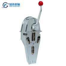 Morse type fishing vessel marine engine control lever outboard throttle control single boat control lever