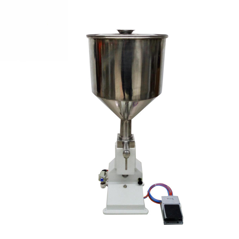 <strong>A03</strong> Small Manual Honey Straw Filling Machine For Cream Shampoo Cosmetic