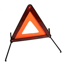 Eruopea Standard Reflective Portable Folding Triple Triangle Warning Kit <strong>Safety</strong> Roadside Highway Emergency First Aid Kit