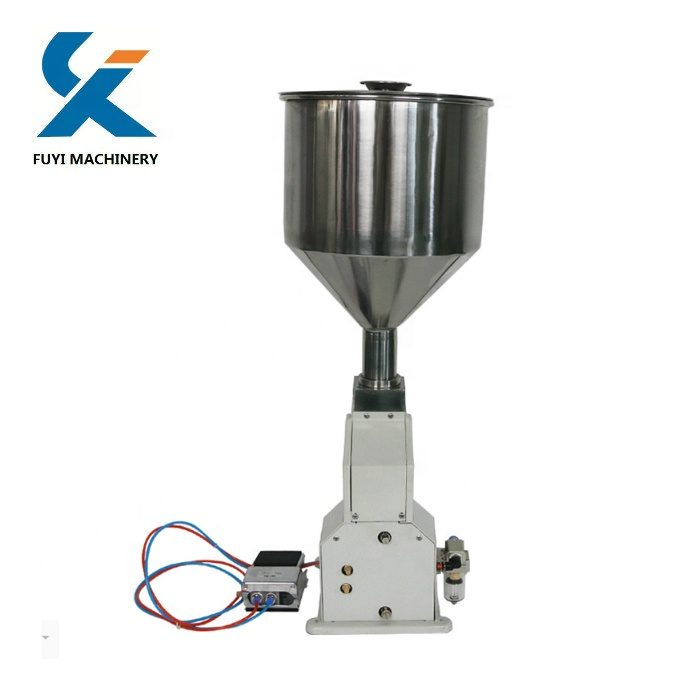 <strong>A02</strong> Pneumatic Liquid Paste perfume Cosmetic Filling Machine