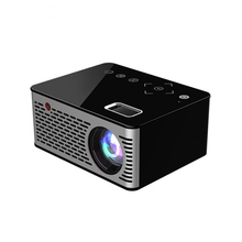 UNIC T200 LED Portable Pocket <strong>Projector</strong> Support AV TF Card USB HD 5V-2A Power Mini LED LCD <strong>Projector</strong> Touch Home Theater Cinema