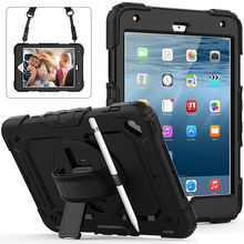 2019 New heavy duty for ipad Mini 5 case kids shockproof rugged case cover for ipad mini5
