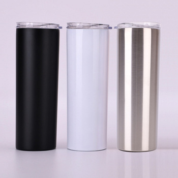 2019 new product 20oz double wall stainless steel vacuum insulated beer mug with stainless steel straw