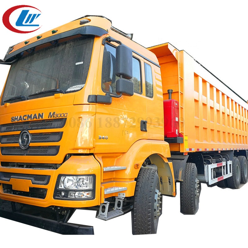 Shcman 30ton~50ton Loading Capacity Front Tipper <strong>Truck</strong>