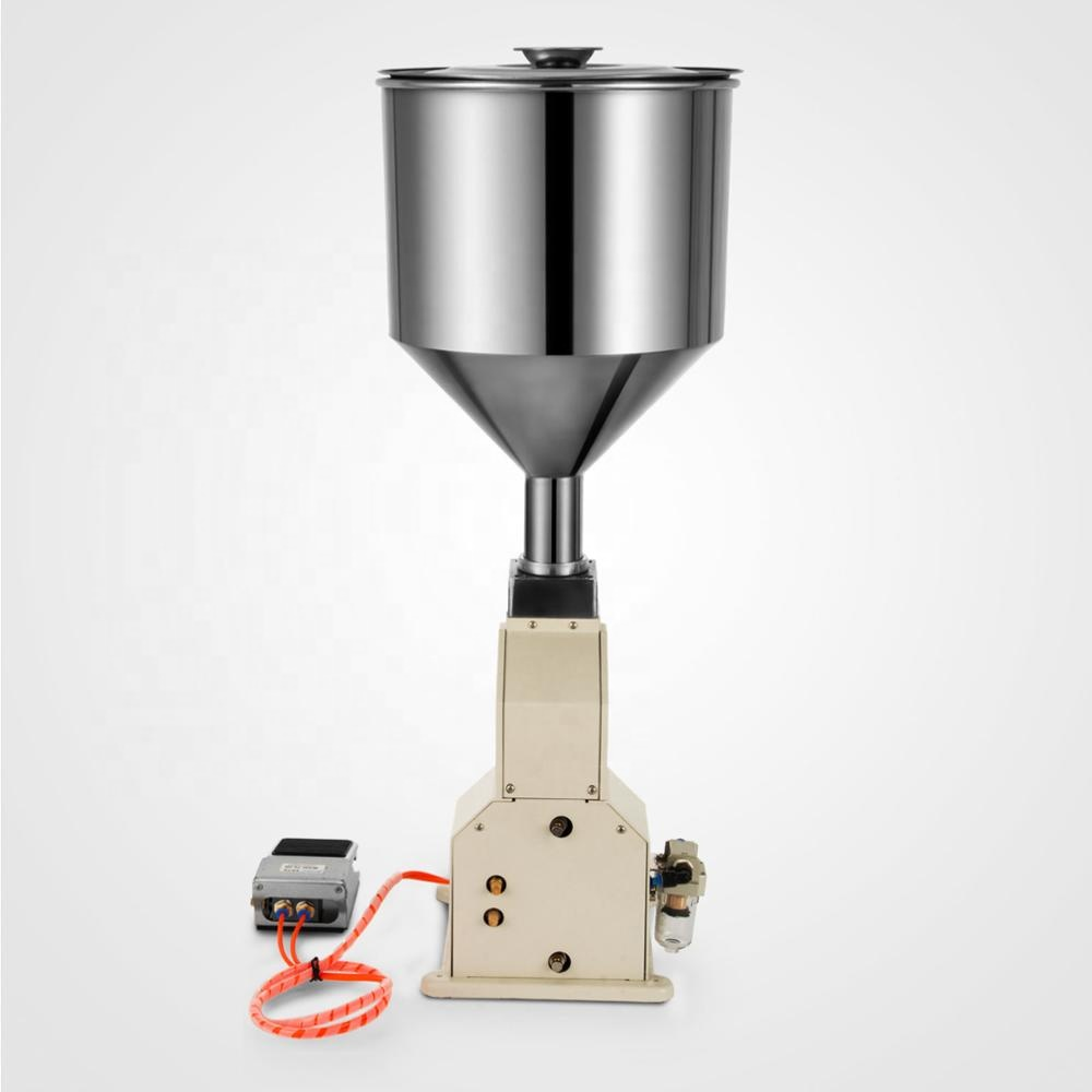 Small pneumatic <strong>A02</strong> Liquid paste honey filling machine