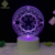 Kids Gift 3D LED  Night Light ABS  Base USB Night Light 3D LED Base Light