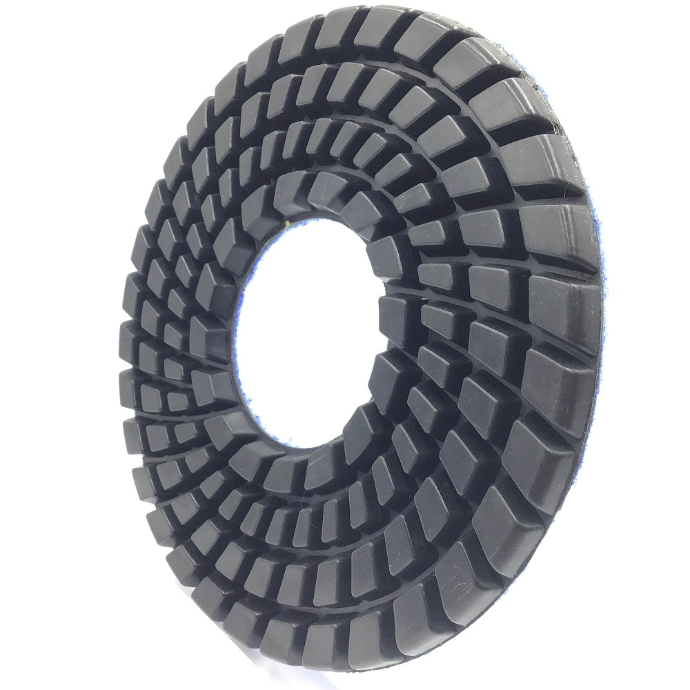250 mm <strong>Diamond</strong> and resin Flexible Buff Polishing Pads for Granite Marble concrete abrasive block