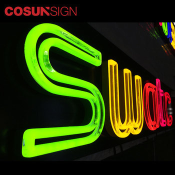 Factory Custom LED Neon Sign Acrylic Luminous Neon Sign Board