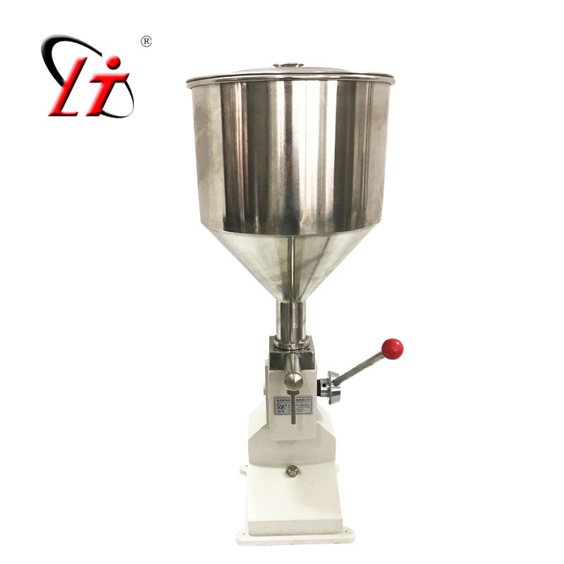 Hot sale <strong>A03</strong> Manual cream filling machine for tubes bags bottles liquid paste filler