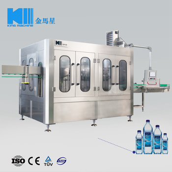 Automated 3 in 1 Soda Water Bottling Production Line