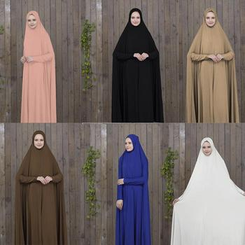 Women Kaftan Muslim abaya Maxi Dress prayer clothing Islam hijab abaya