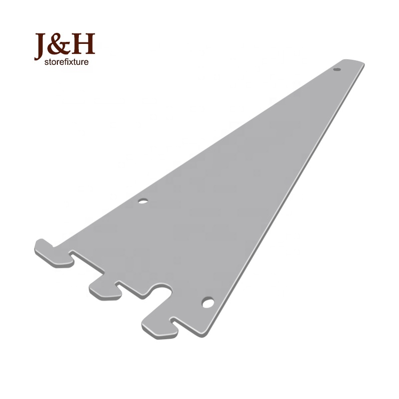 Metal 8/10 / 12/14/16/ 18/ <strong>20</strong> Inch Chrome Blade Shelf Bracket for Wall Upright Post