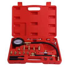 Professional Auto Testing Tool TU-114 Fuel Injection Pressure Gauge for Automotive Repair Tester Kit
