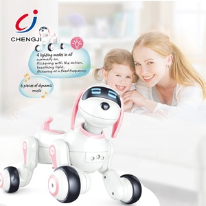 Programable remote control toy electronic walking pet rc robot dog