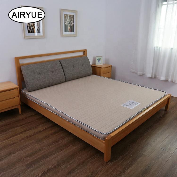 Ticking fabric coconut fiber double bed mattress - Jozy Mattress   Jozy.net