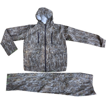 Men's hunting uniform for fishing and bird watching