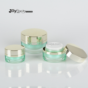 20g 30g 50g empty plastic acrylic make up cream jar for cosmetic package wholesale