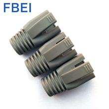 RJ45 Cat6 Connector Boots wire <strong>hole</strong> 6.5mm PVC connector boots