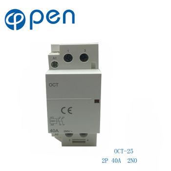 OCT-25 Series AC Household Contactor 2P 40A