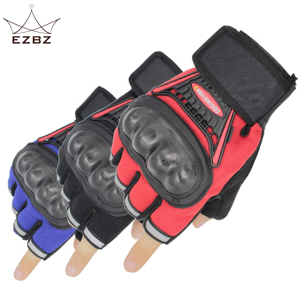 2019 Protective <strong>Shock</strong> Resistant Sports Half Finger Motorcycle Gloves Perfect for Outdoor Camping Cycling