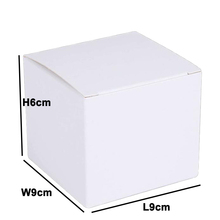 Custom Making White Paper Box for Cosmetic Cream Packaging with printing Logo