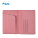 Perfect graceful PU cover blank saffiano leather passport holder leather custom travel wallet