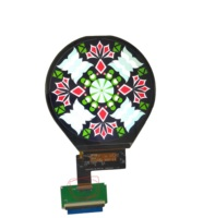 super 3.4 inch 800*800 thin mipi dsi interface mini transflective shape wearable small tft round ips lcd display