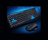 2.4GHz Wireless Gaming Keyboard and Mouse Set teclado Multimedia keyboard