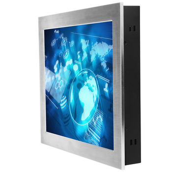Shenzhen customized 15 inch Industrial/open frame  projected capacitive touch monitor with Aluminium case