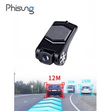 Phisung <strong>X10</strong> ADAS Car DVRs Full HD Dash Cam Camera LDWS Auto Recorder 2018 Hidden Type for Android Multimedia player DVD