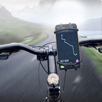 DHL Free Shipping FLOVEME strongly fixed adjustable bicycle phone holder silicone stand holder mobile stand for bike
