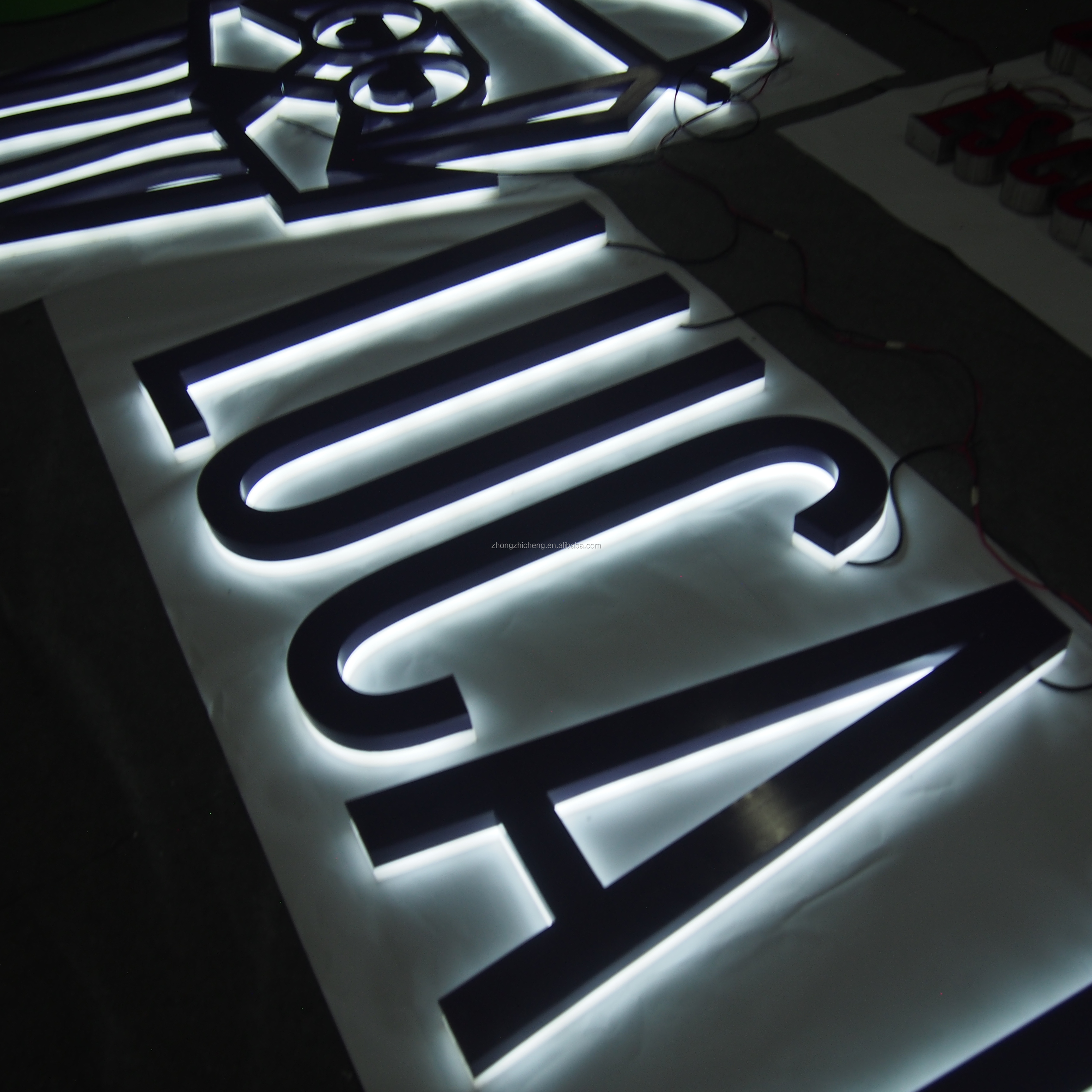 High-grade outdoor custom neon electronic led <strong>sign</strong> for hair salon &amp; shop