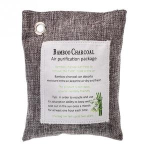 100% Natural and Chemical Free Bamboo Charcoal Odor Absorber Bag
