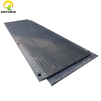 Black HDPE Hollow Core Road Mat for Construction